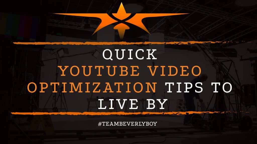 Title Youtube video optimization tips to live by