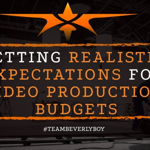 title realistic expectations when budgeting for video production