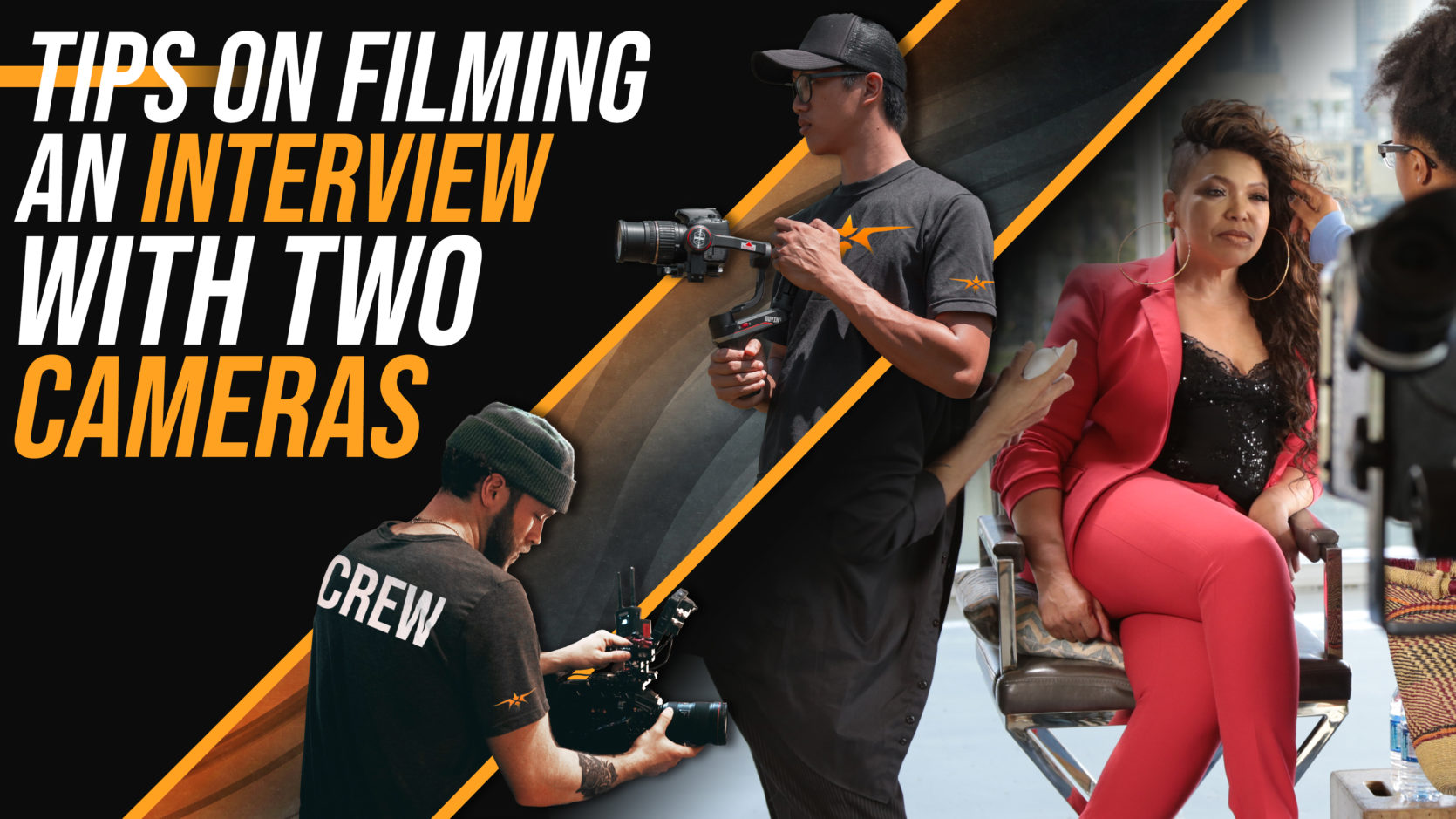 Tips on Filming an Interview with Two Cameras