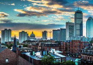 historic boston skyline