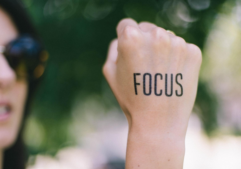 focus clearly on success