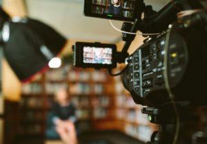 Videographer Prepping Camera Gear 264