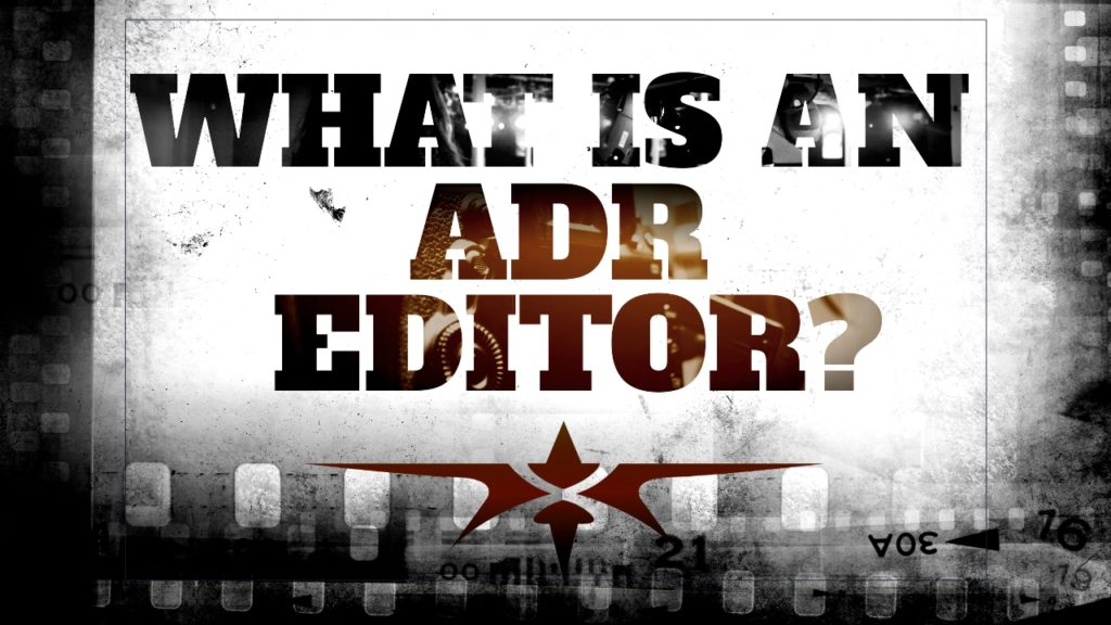 title what is an adr editor