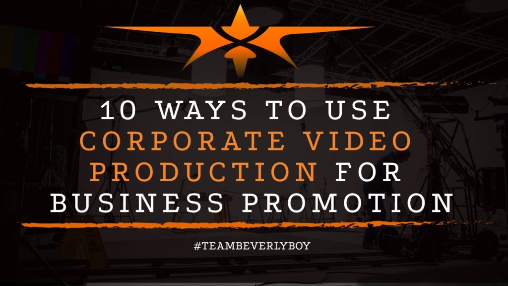 title corporate video production for business promotion