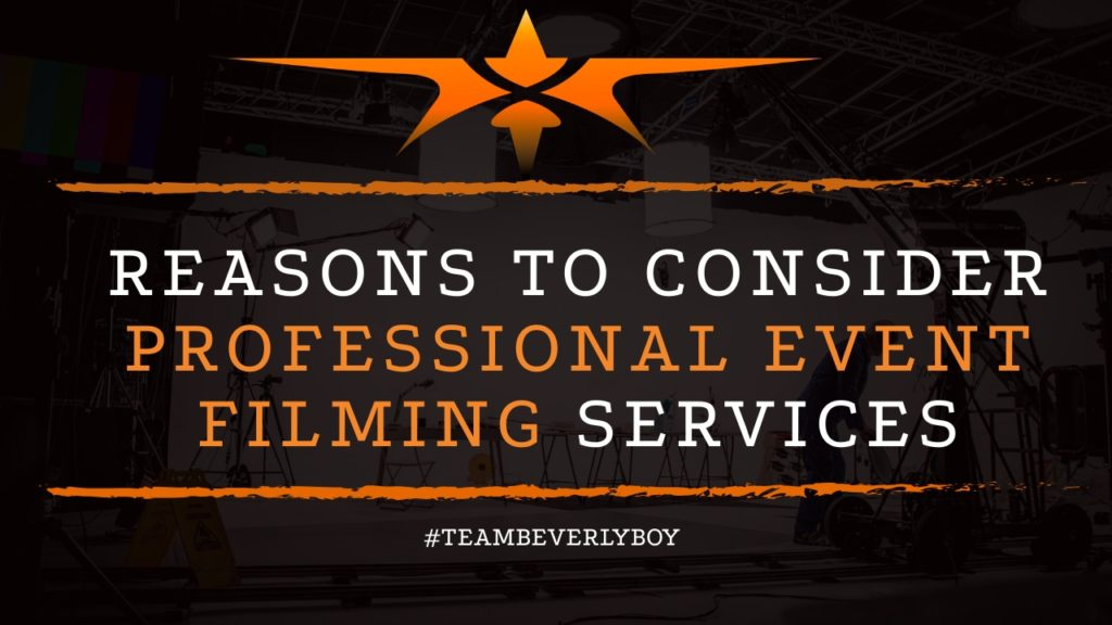 title 3 reasons to consider professional event filming services
