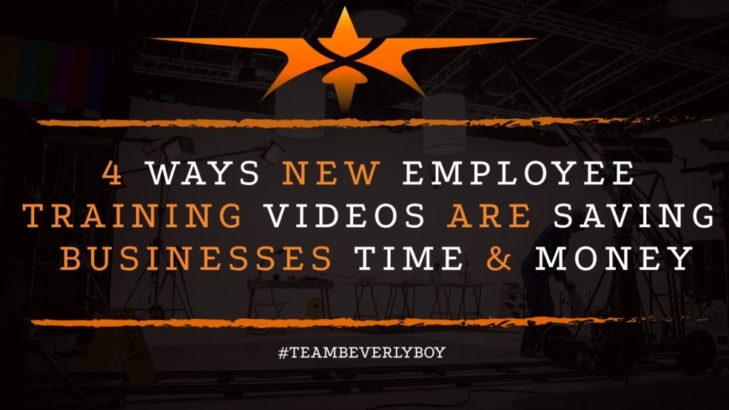 4 Ways New Employee Training Videos are Saving Businesses Time & Money