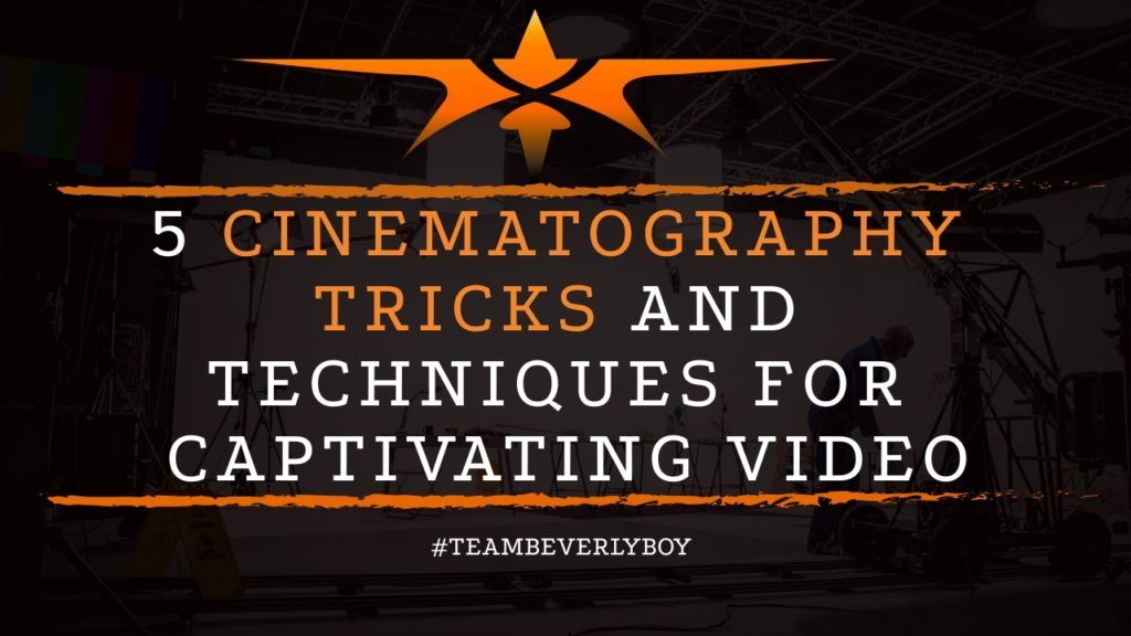 title cinematography tips and techniques