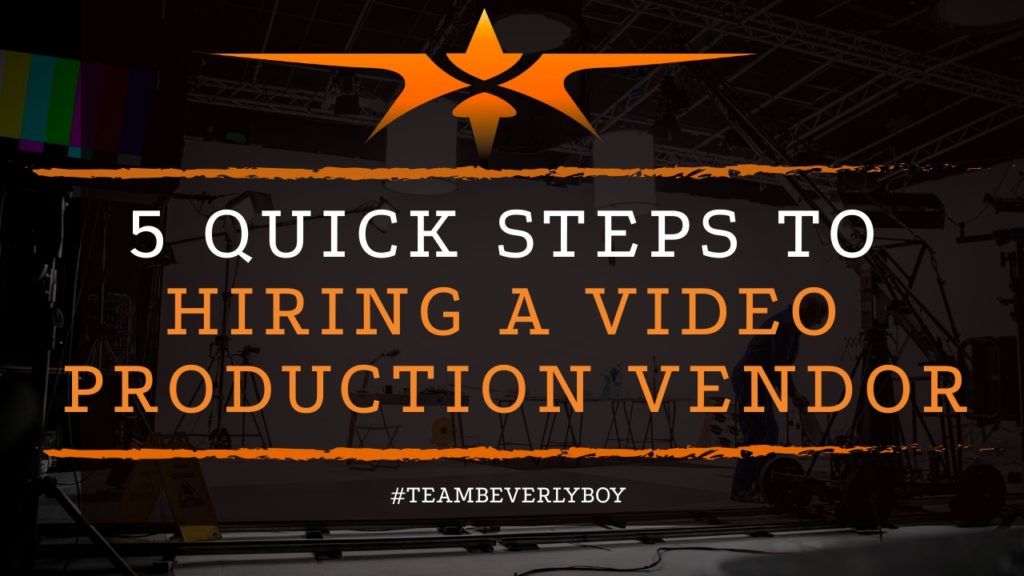 title hiring video production vendors