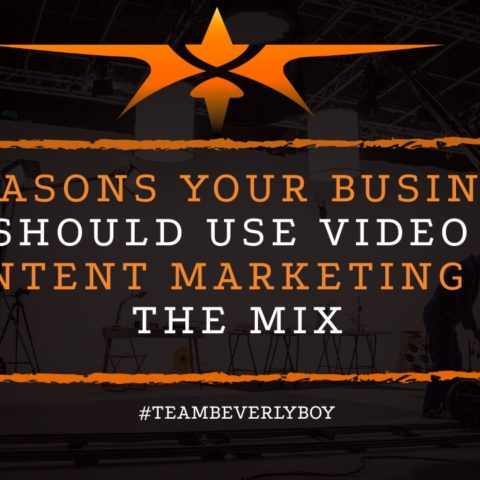 5 Reasons Your Business Should Use Video Content Marketing in the Mix