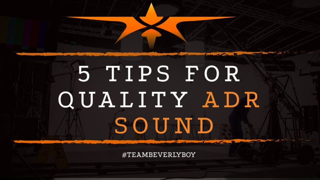 title tips for quality ADR sound