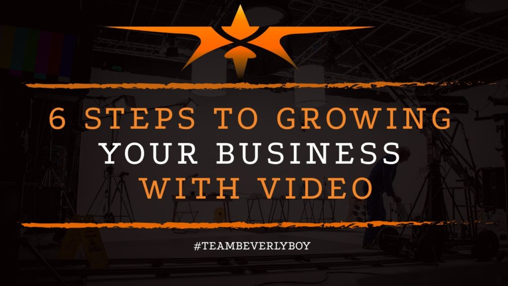 title steps to growing your business with video