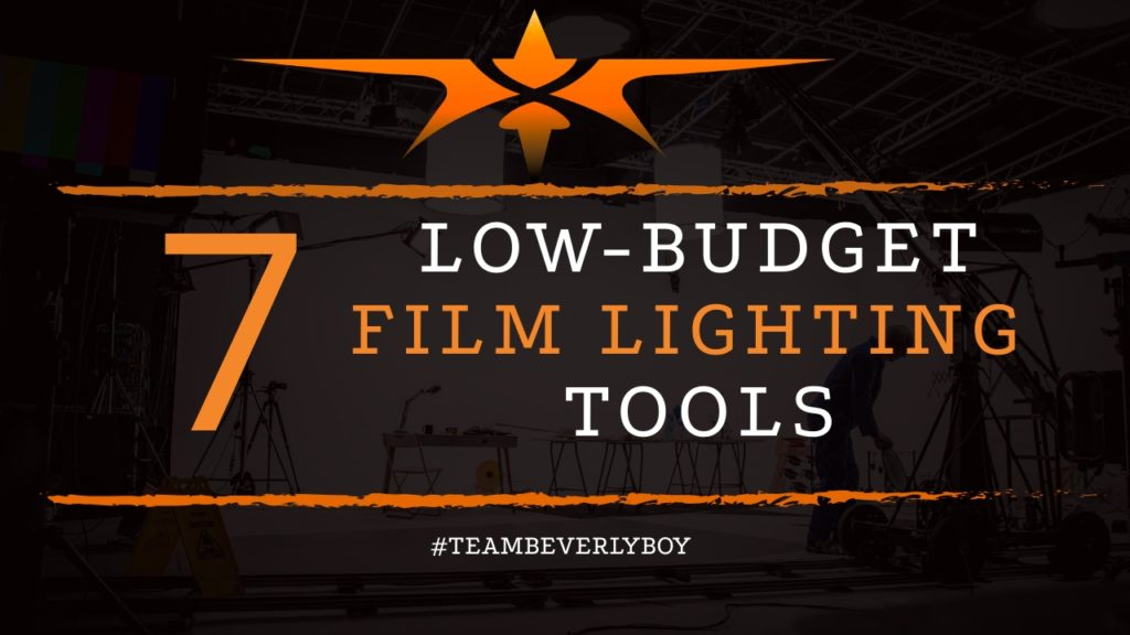 title low budget film lighting tools