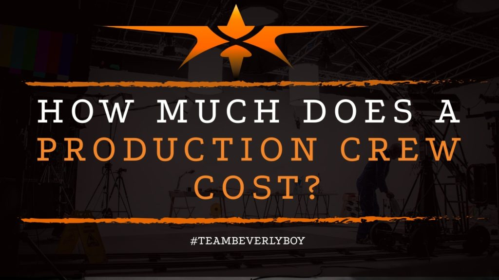 title how much does a production crew cost