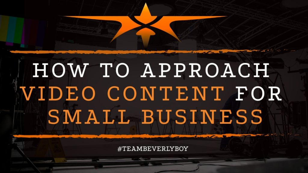 title how to approach small business video content
