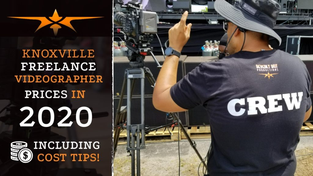 Knoxville Freelance Videographer Prices in 2020