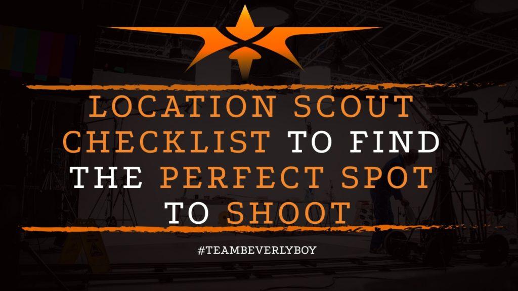 title location scout checklist