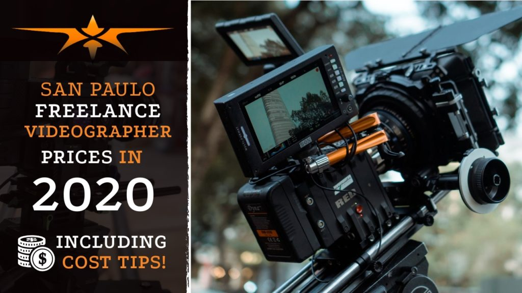 San Paulo Freelance Videographer Prices in 2020