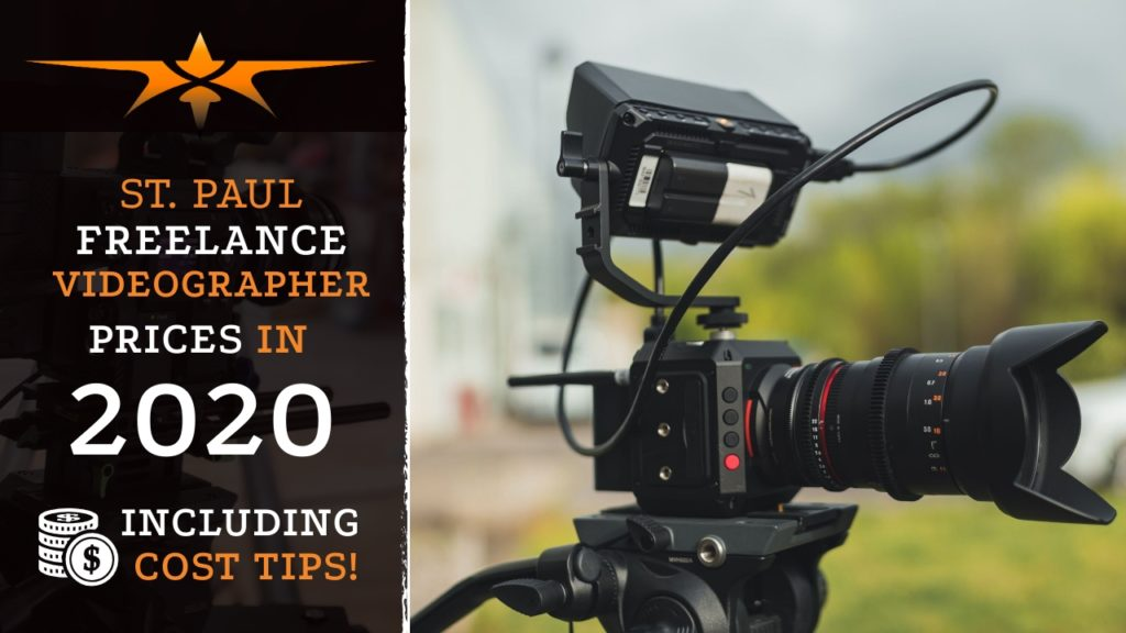 St. Paul Freelance Videographer Prices in 2020