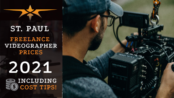 St. Paul Freelance Videographer Prices in 2021