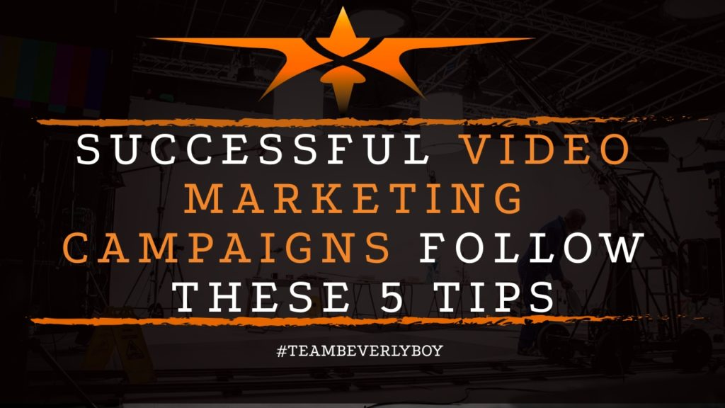 title successful video marketing campaigns follow these tips