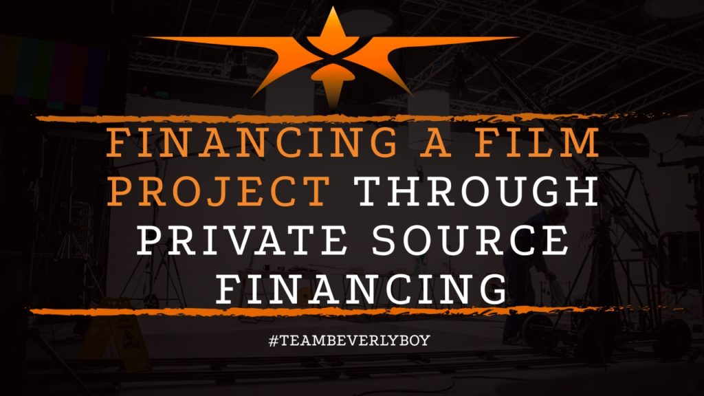 title tips for financing film through private funding
