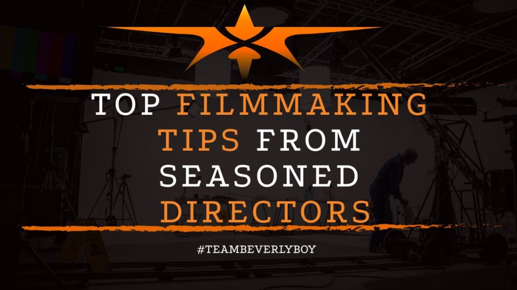 title filmmaking tips from seasoned directors