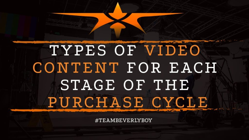 title types of video content for purchase cycle stages