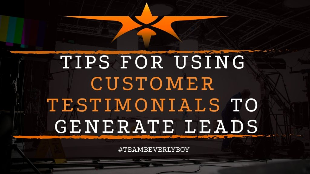 title customer testimonial videos to generate leads