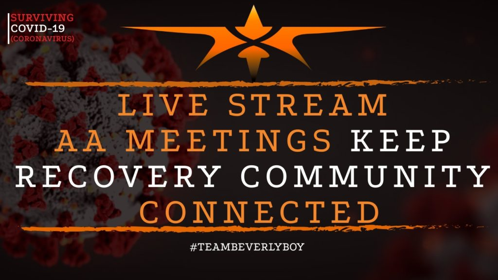 title live stream AA meetings keep recovery community connected in COVID-19 outbreak
