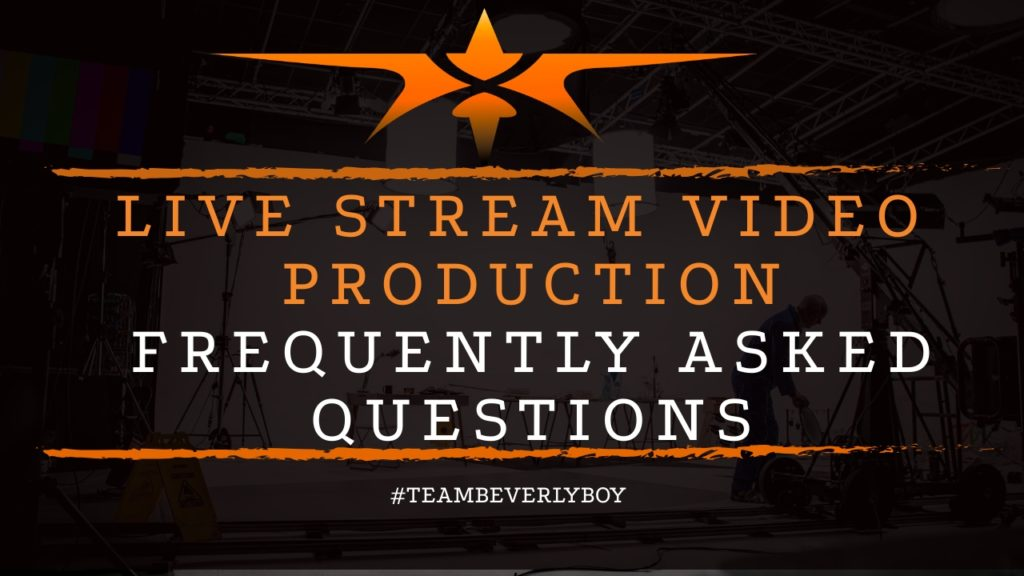 title live stream video production FAQs