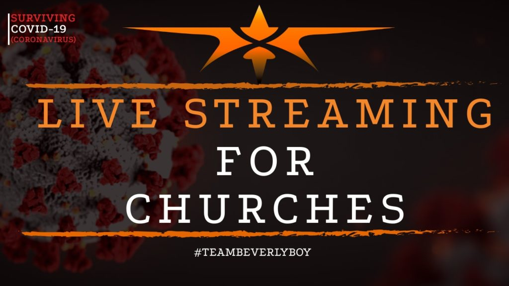 title live streaming church