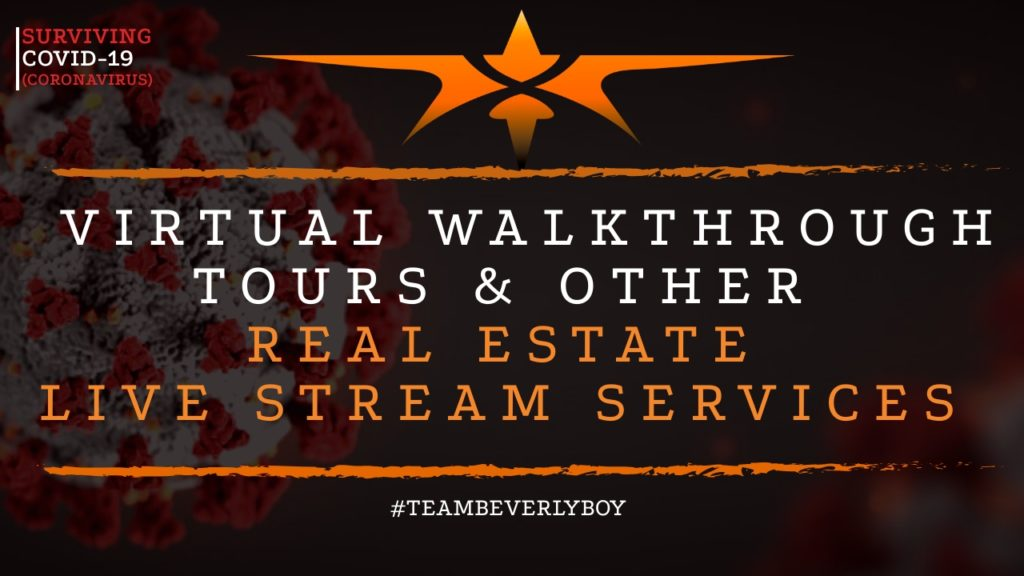 real estate live stream services and tours