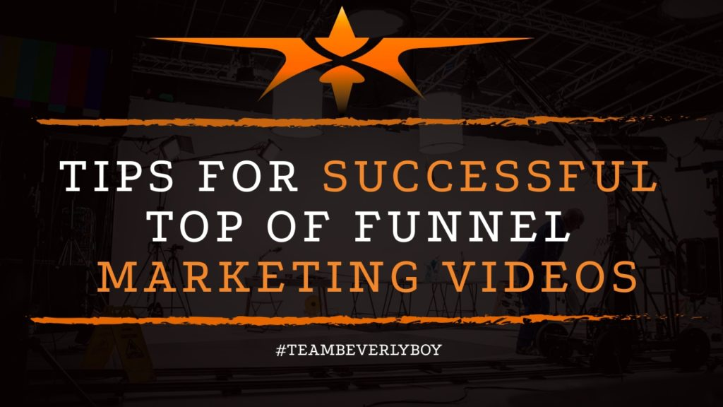 title successful top of funnel marketing videos