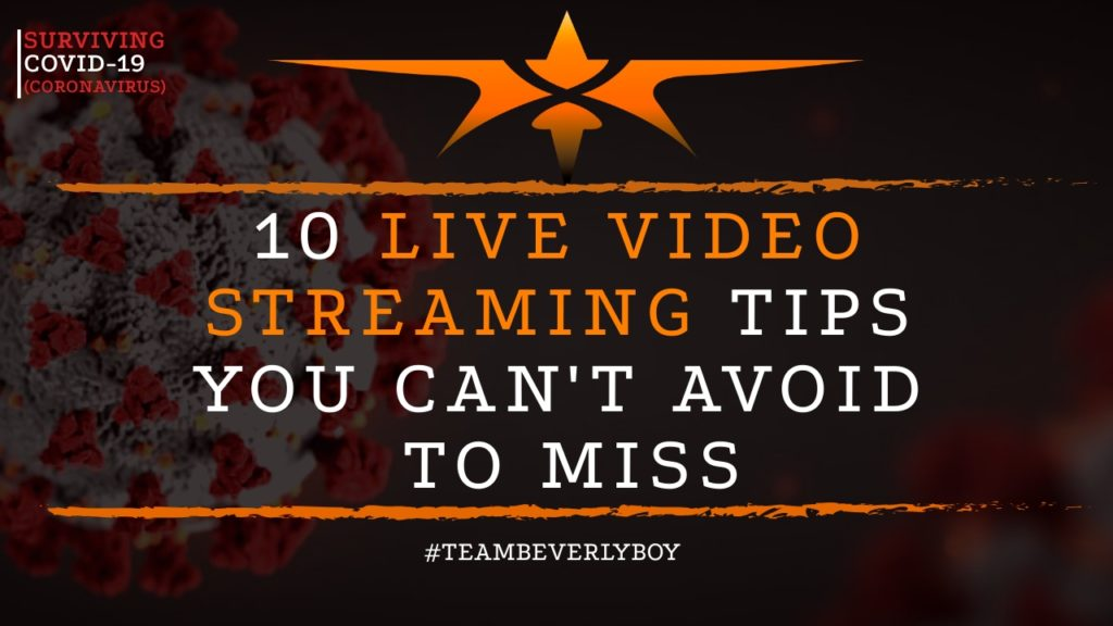 title live video streaming tips