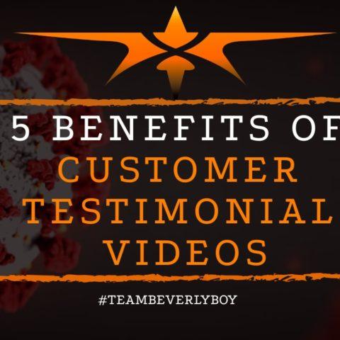 title benefits of customer testimonial videos