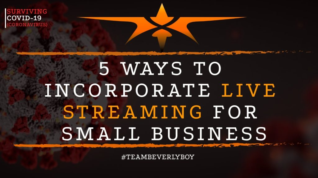 title live streaming for small business tips