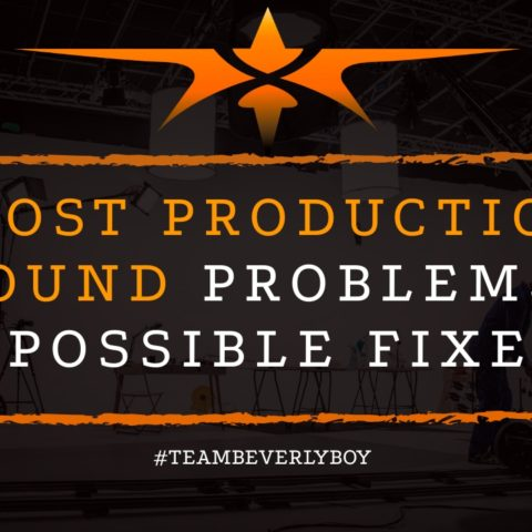 title post production sound problems and solutions