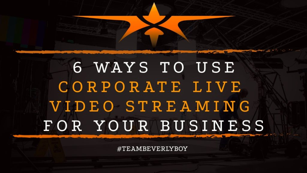title ways to use corporate live video streaming