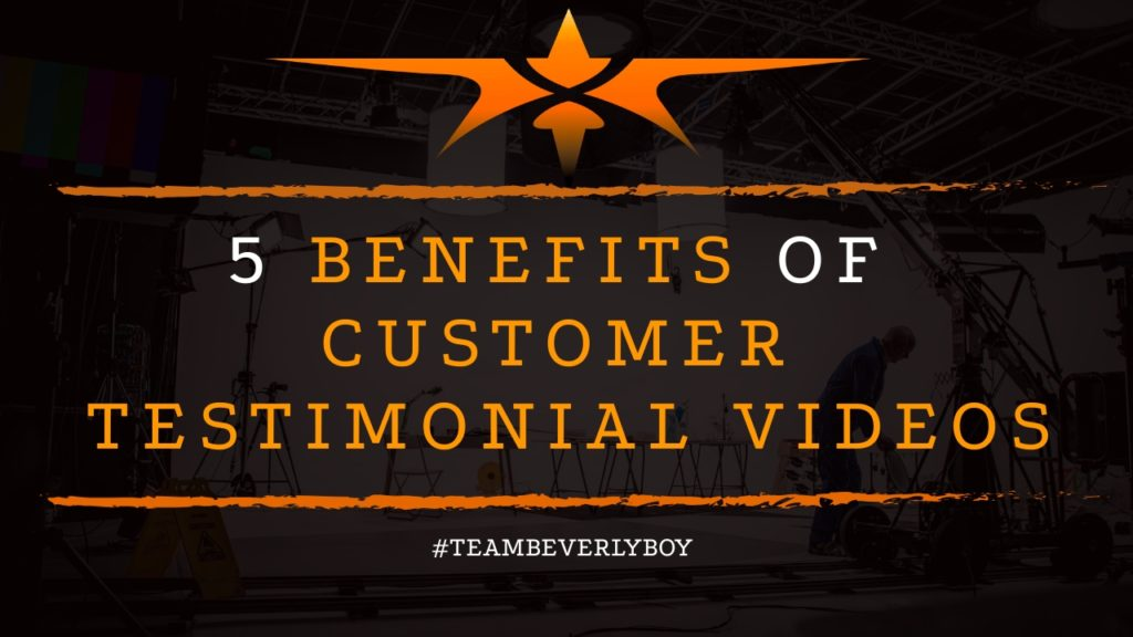 title benefits of customer testimonial videos