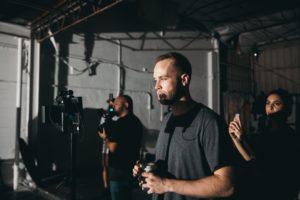 Videographer Prepping Camera Gear 331