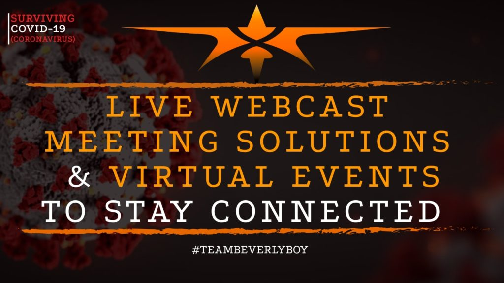 title live webcasting solutions and webcast meeting