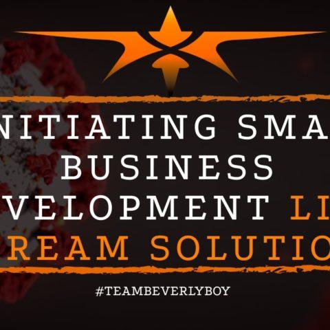 title initiating small business development live stream