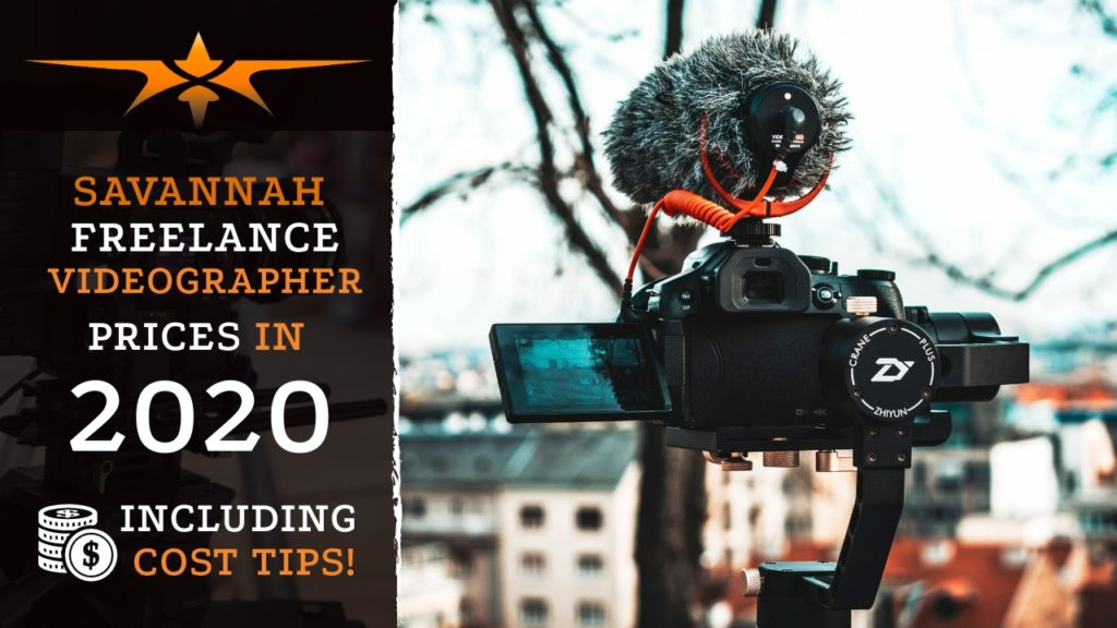 Savannah Freelance Videographer Prices in 2020