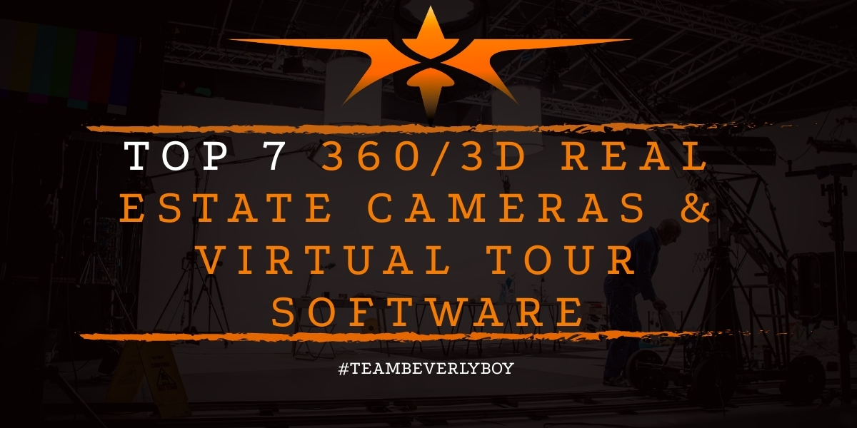 Top 7 360 3D Real Estate Cameras & Virtual Tour Software