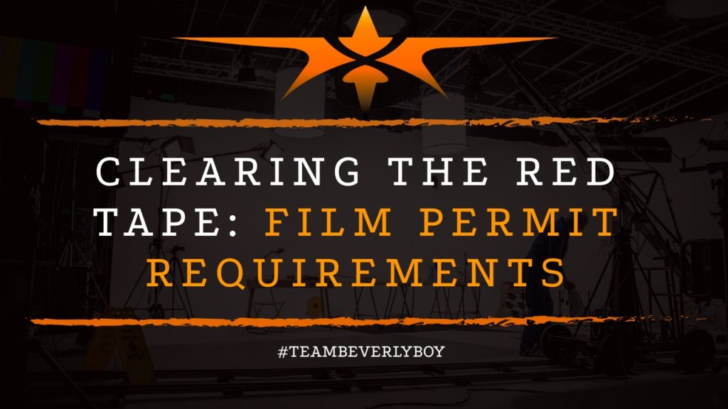 title film permit and paperwork requirements