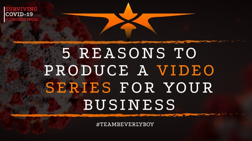 title reasons to create a video series