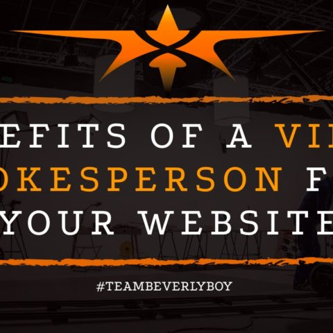 title benefits of a video spokesperson for your website