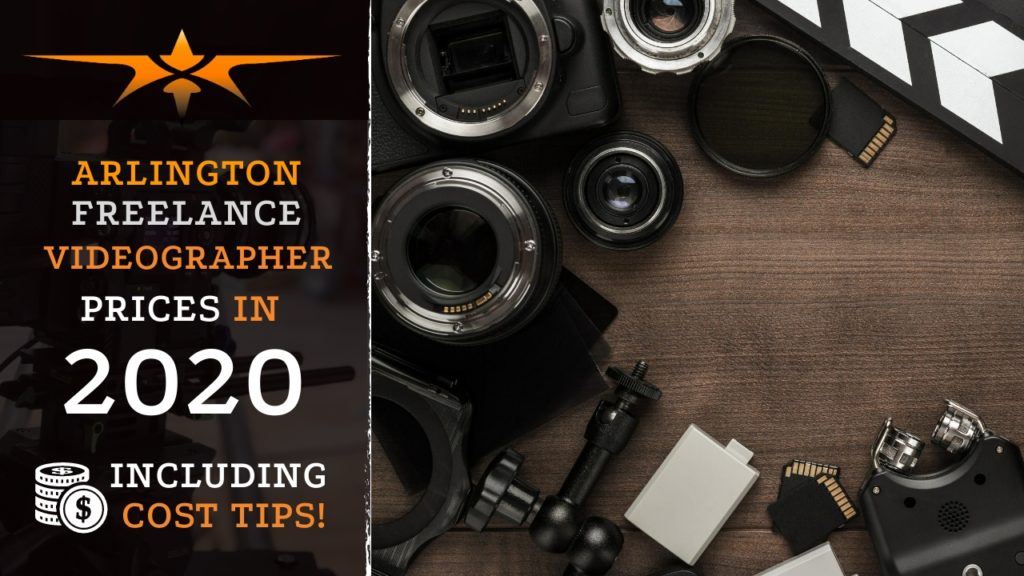 Arlington Freelance Videographer Prices in 2020