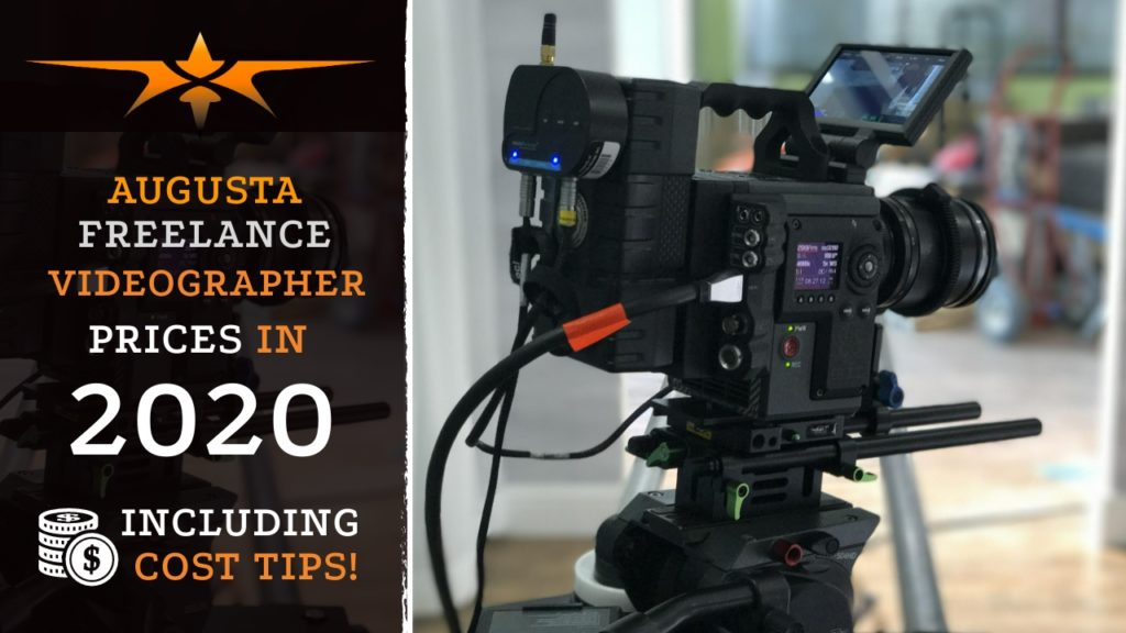 Augusta Freelance Videographer Prices in 2020
