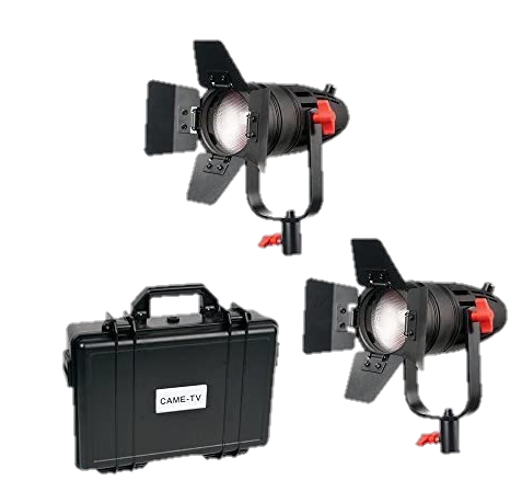 CAME-TV Boltzen 55W Fresnel Kit-Transparent